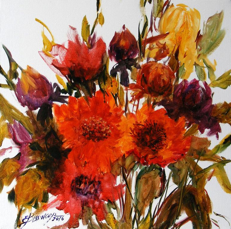 Flori de toamna, Elena Bissinger.