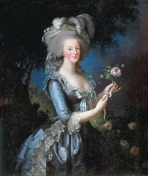 Maria Antonieta (1783), Vigée Lebrun, Palacio de Versalles.
