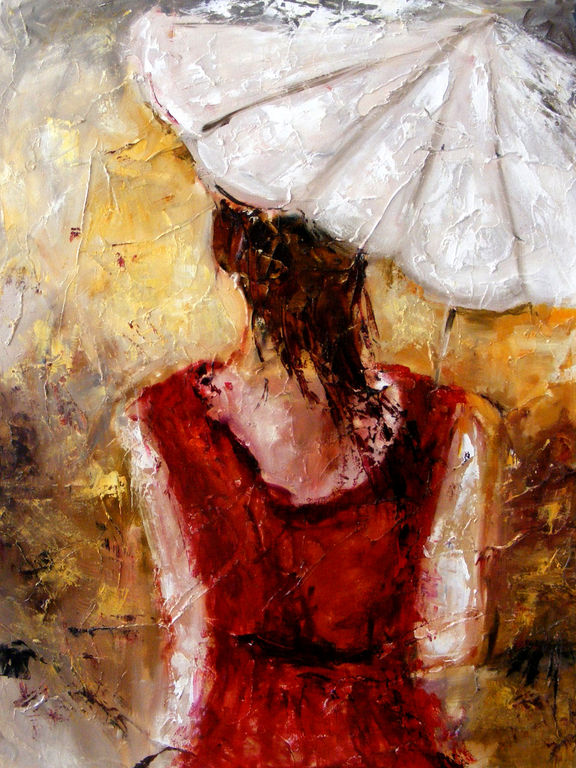 Doamna cu umbrela, Elena Bissinger.