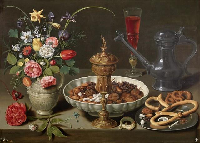 Mesa, óleo sobre tabla, 52 x 73 cm, 1611 [P01620]