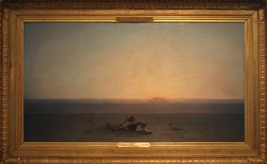 Sahara (1867), Gustave Guillaumet, Musée d'Orsay (París).