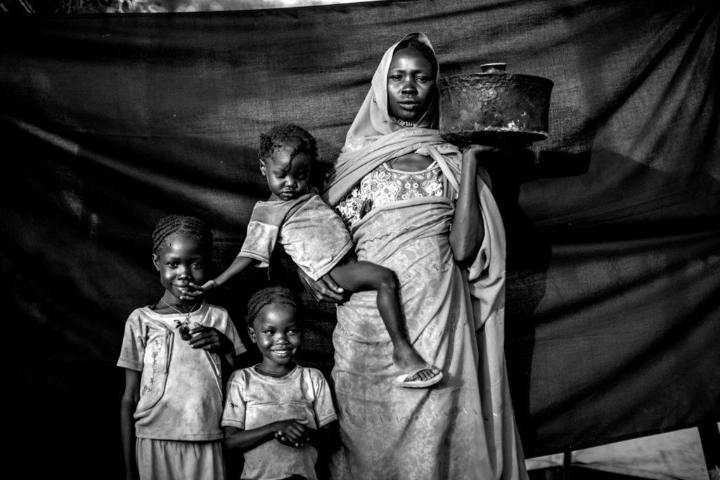 Magboola, 20 años, en el campamento de refugiados de Jamam, Maban, Sudán del Sur. Brian Sokol / ACNUR.