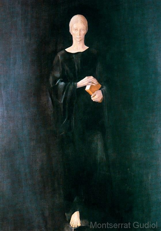 Sant Benet (1980), Montserrat Gudiol.