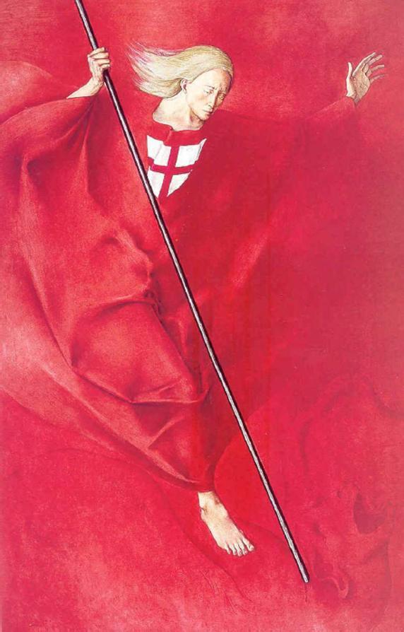 Sant Jordi (1974), Montserrat Gudiol.