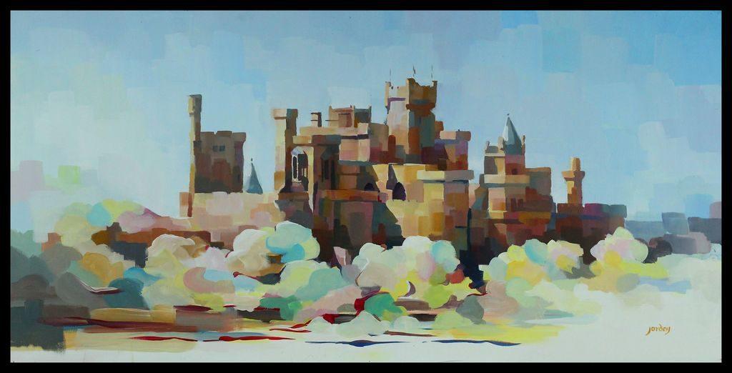 Castillo de Olite, José María Ordeig Corsini