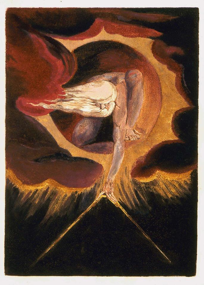 El Anciano de los días (1794), William Blake, British Museum (Londres).