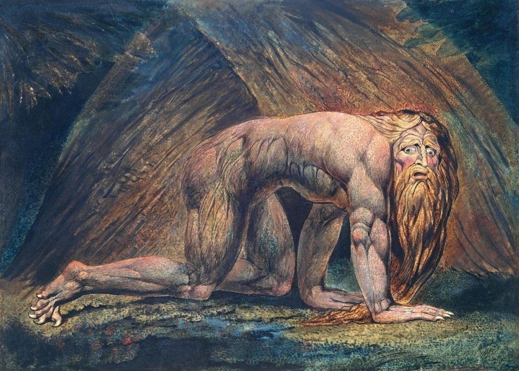 Nabucodonosor (1795 - 1805), William Blake.