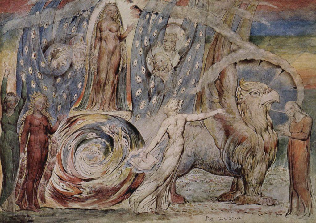 Divina Comedia (1824 - 1827), William Blake, British Museum (Londres).