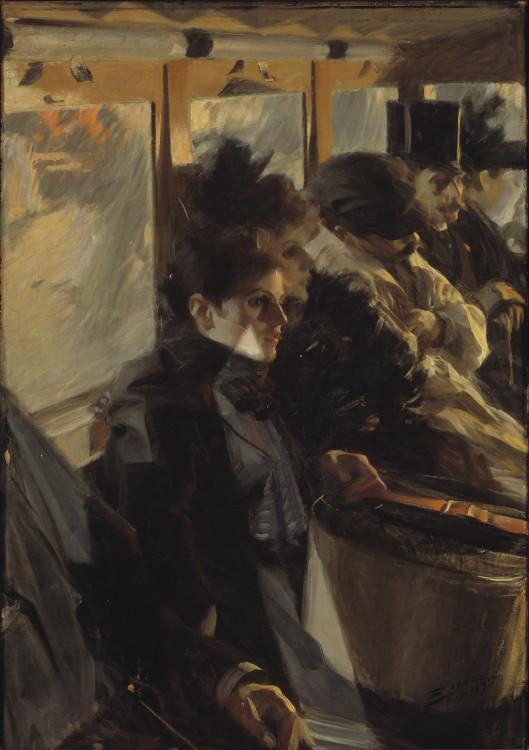 Ómnibus (1892), Anders Zorn, ISG Museum (Boston).