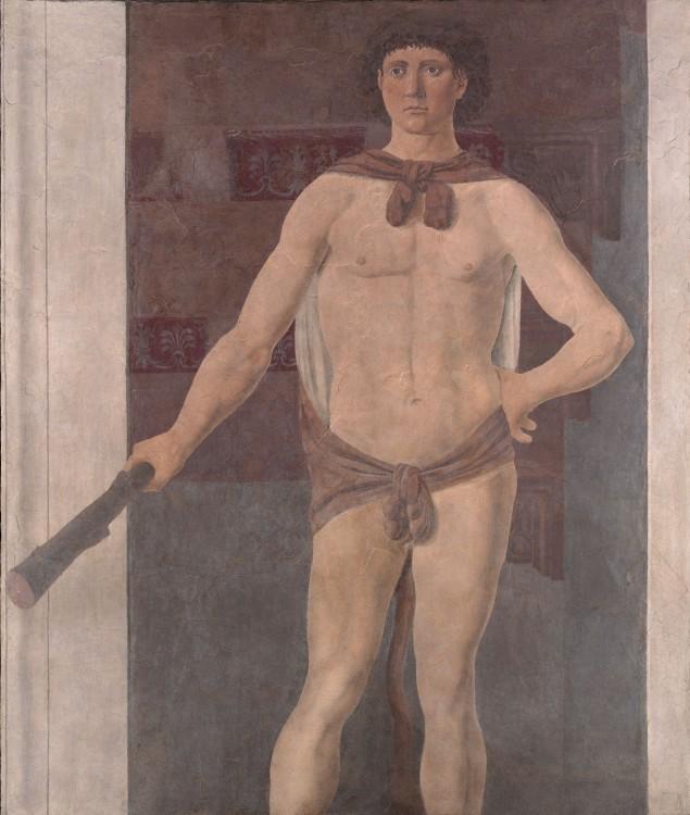 Hércules (c. 1470), Piero della Francesca, ISG Museum (Boston).