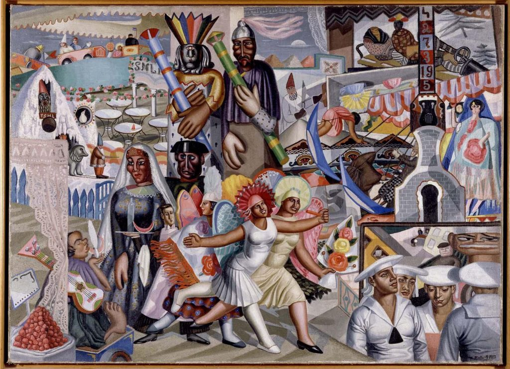 La Verbena (1927), Maruxa Mallo, Museo Reina Sofia (Madrid).