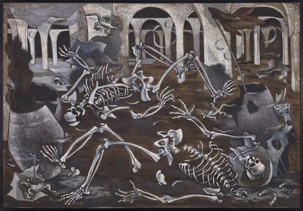 Cloacas y campanarios (1930), Maruxa Mallo, Museo Reina Sofía (Madrid).