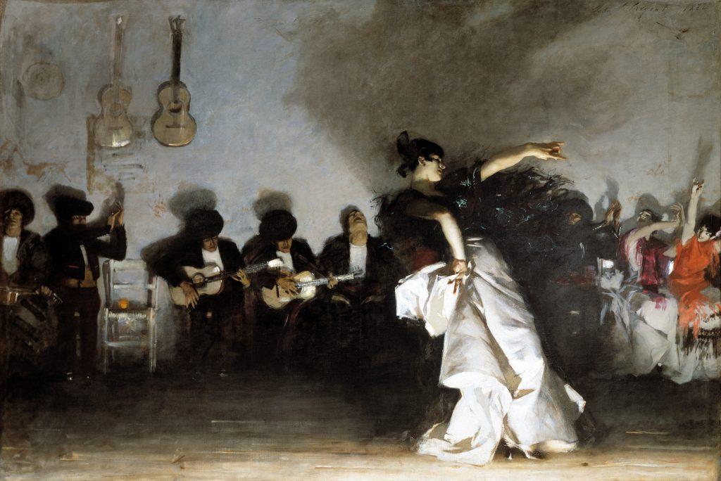 El Jaleo (1882), John Singer Sargent, ISG Museum (Boston).