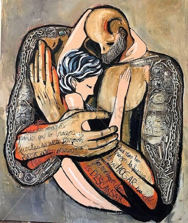Big Hands to Protect, Never to Harm; Saúl Gil Corona.