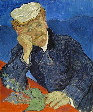 El Doctor Gachet (1890), Vincent van Gogh, Museo Orsay.