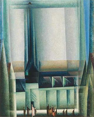 Gelmeroda VIII, 1921. Whitney Museum of American Art, Nueva York. © Whitney Museum, N.Y.