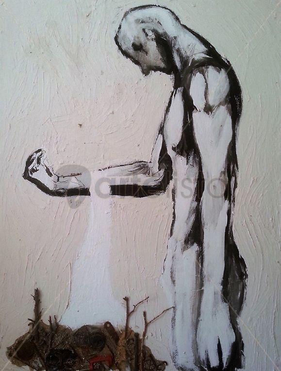 El púgil en su silencio, Saúl Gil Corona.