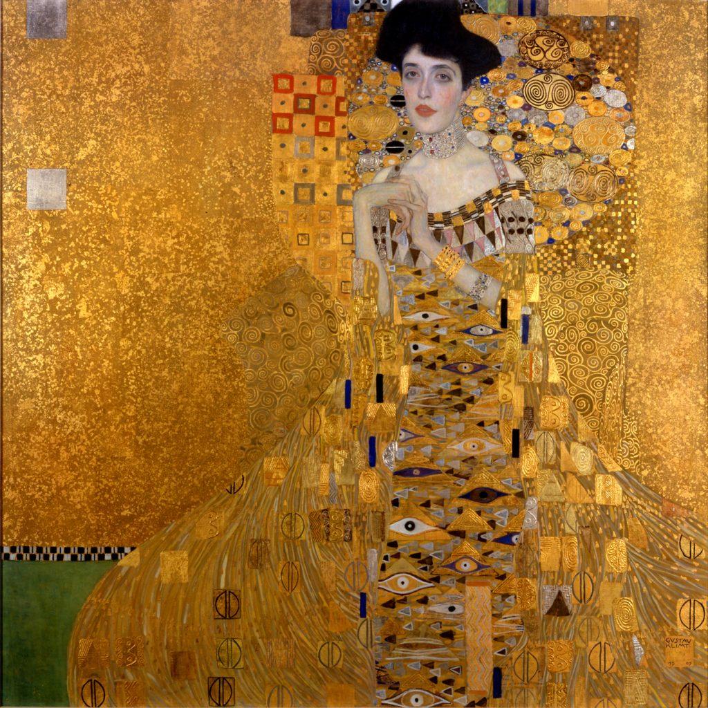 Retrato de Adele Bloch-Bauer I (1907), Gustav Klimt, Neue Galerie (Nueva York).