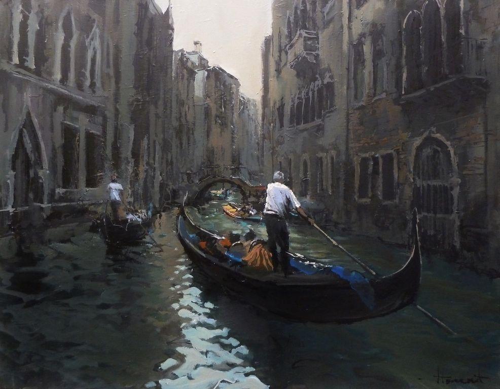 Grises de Venecia, Jordi Torrent.