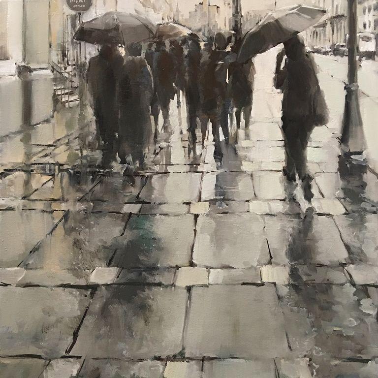 Lluvia en la ciudad, Jordi Torrent.