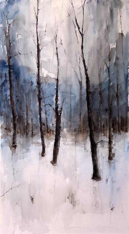 Bosque nevado, Jacques Villares.