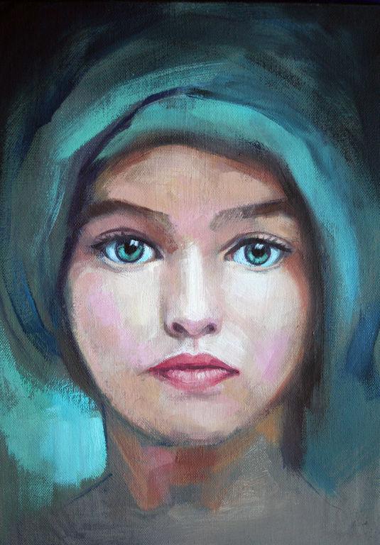 Ojos verdes, Eva Villalba Vega.