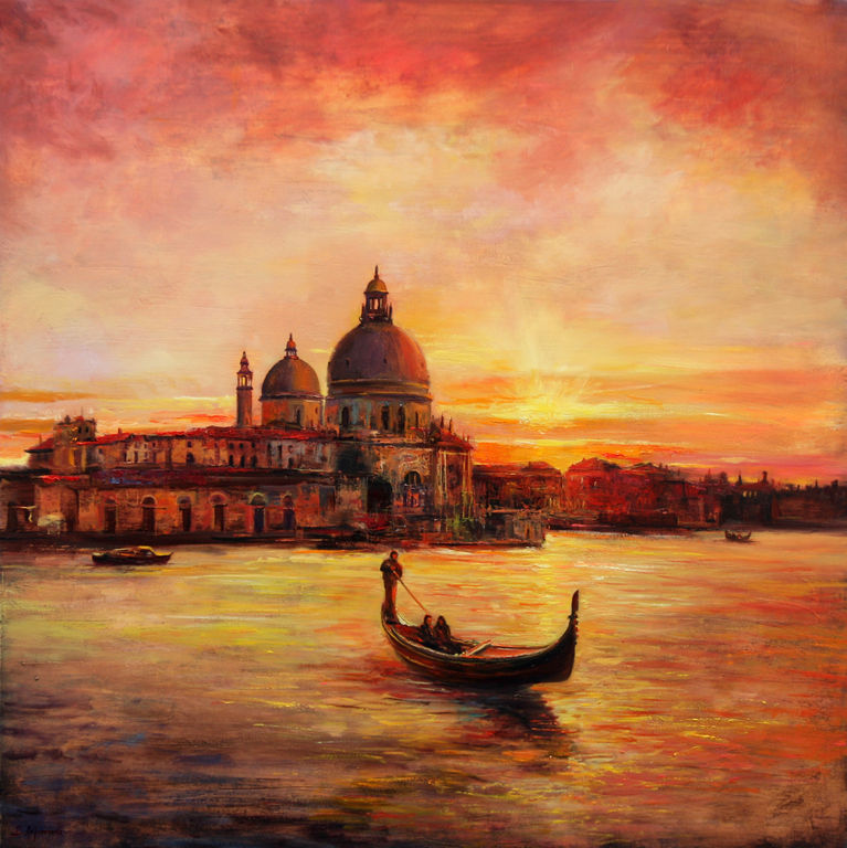 Romantic Venice, Behshad Arjomandi
