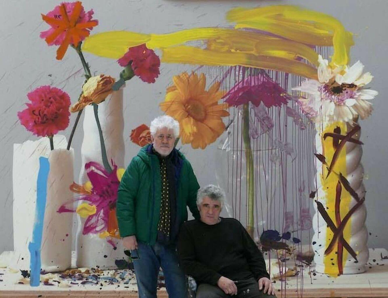 Almodóvar y su nueva faceta de pintor