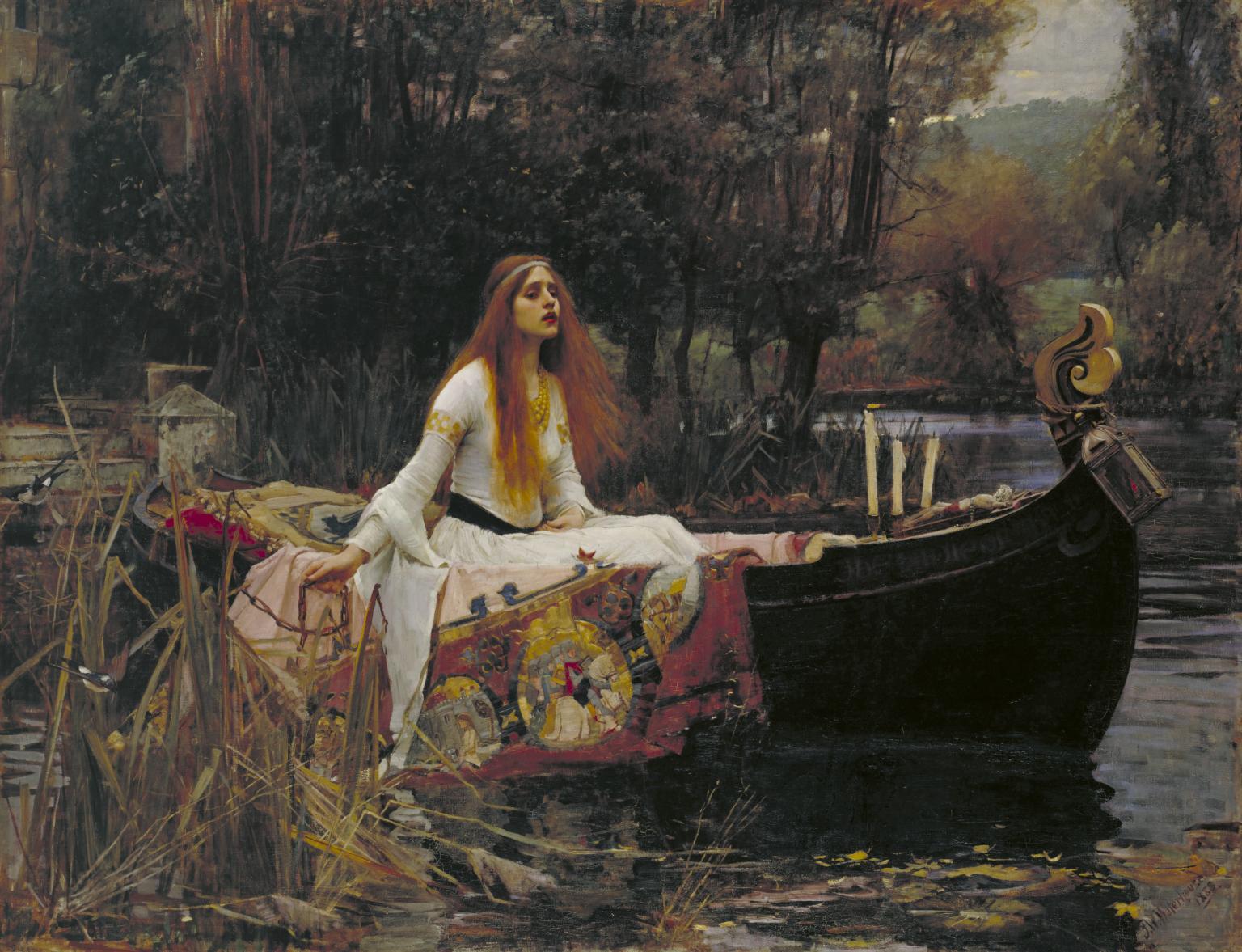 La nostalgia medieval de John William Waterhouse