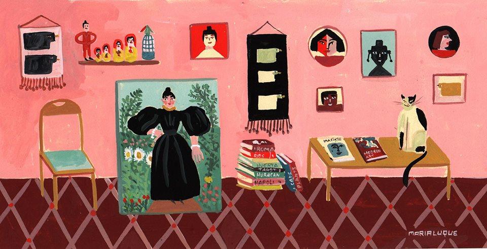 La ilustradora Maria Luque en 5 datos y una entrevista