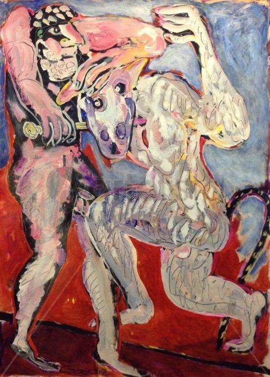 Hércules y el minotauro