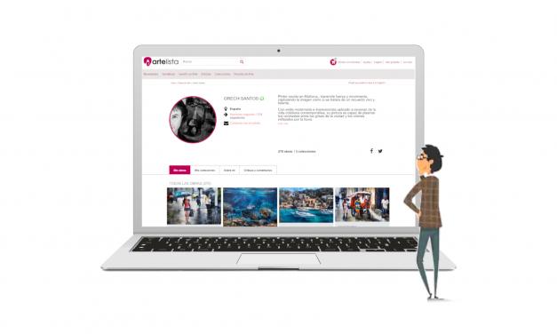 Cómo comprar arte online en Artelista