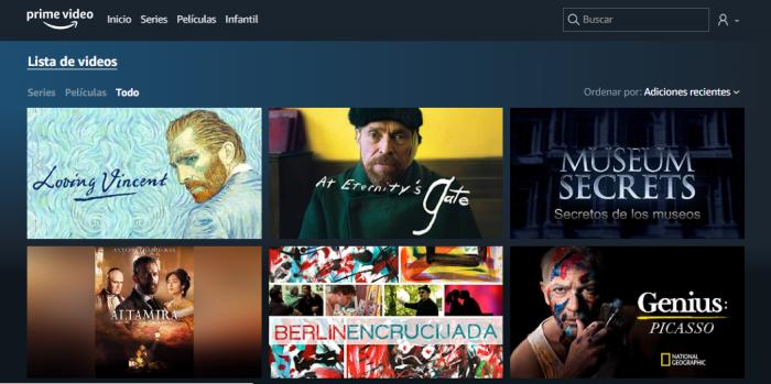 6 películas y series sobre arte para ver en Amazon Video