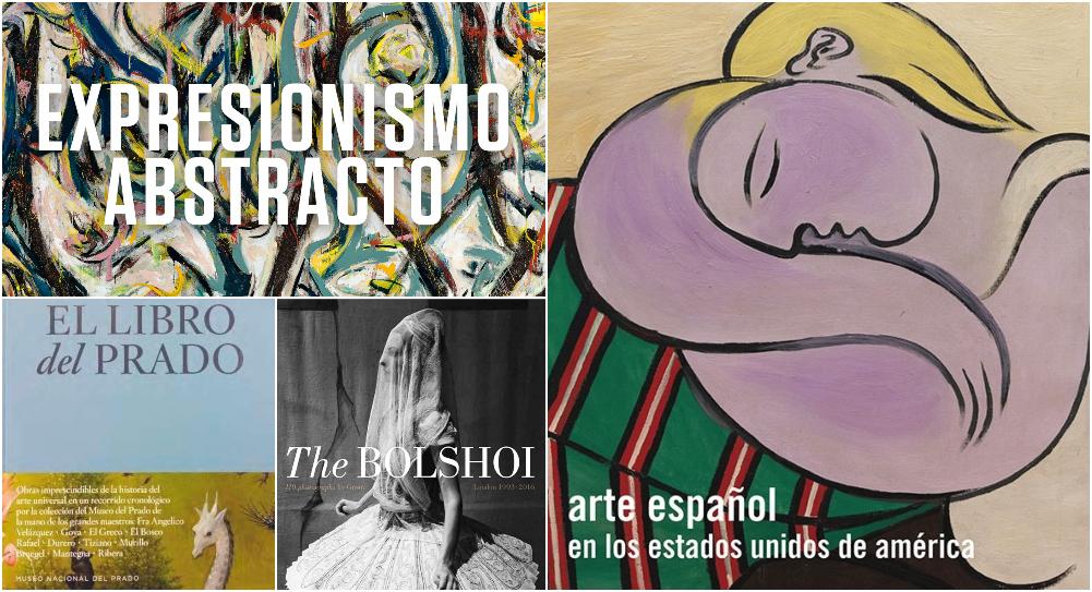 7+2 libros ilustrados para amantes del arte