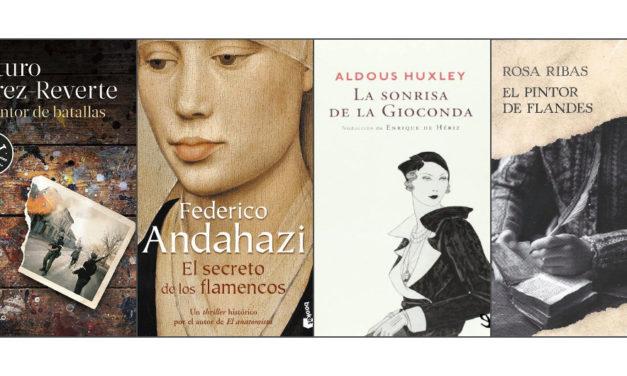 10 novelas sobre grandes maestros del arte
