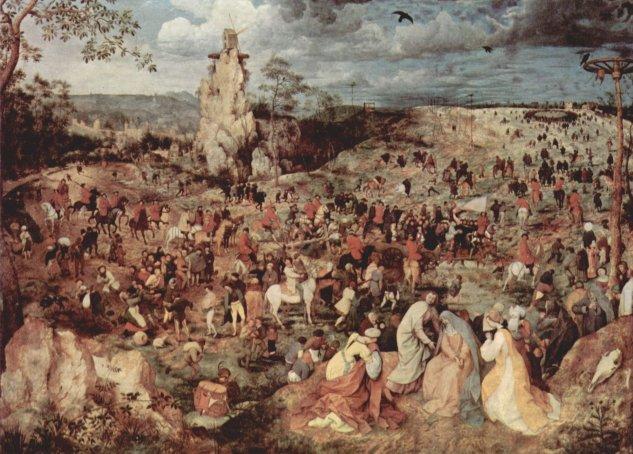 Camino del monte Calvario