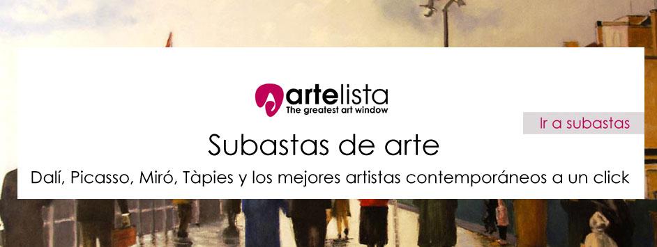 Subastas de cuadros y arte - Dalí, Picasso, Miró, Tàpies y los mejores artistas contemporáneos a un click