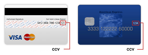 What Does CCV Mean for Credit Card