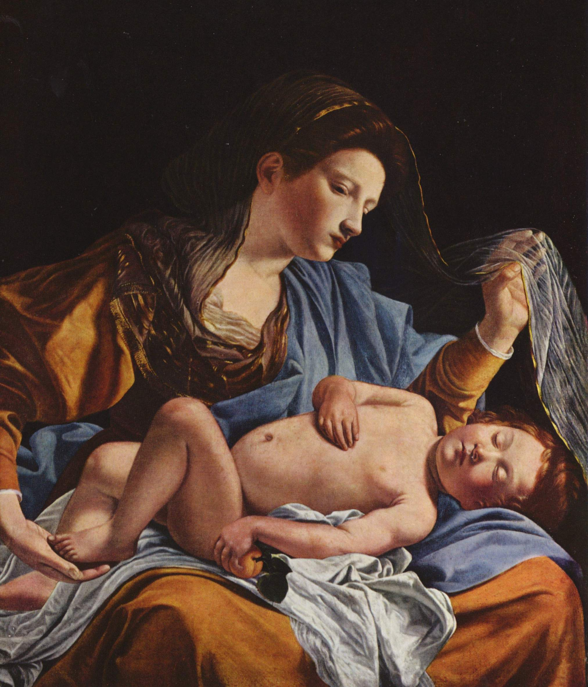 Orazio Gentileschi - Maria mit Kind | Artelista.com