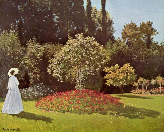 6f13855ea Claude Monet - Mujer en el jardín | Artelista.com