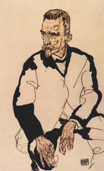 Porträt des Heinrich Benesch