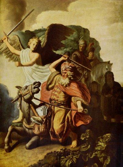 Profeta Balaam y su burra