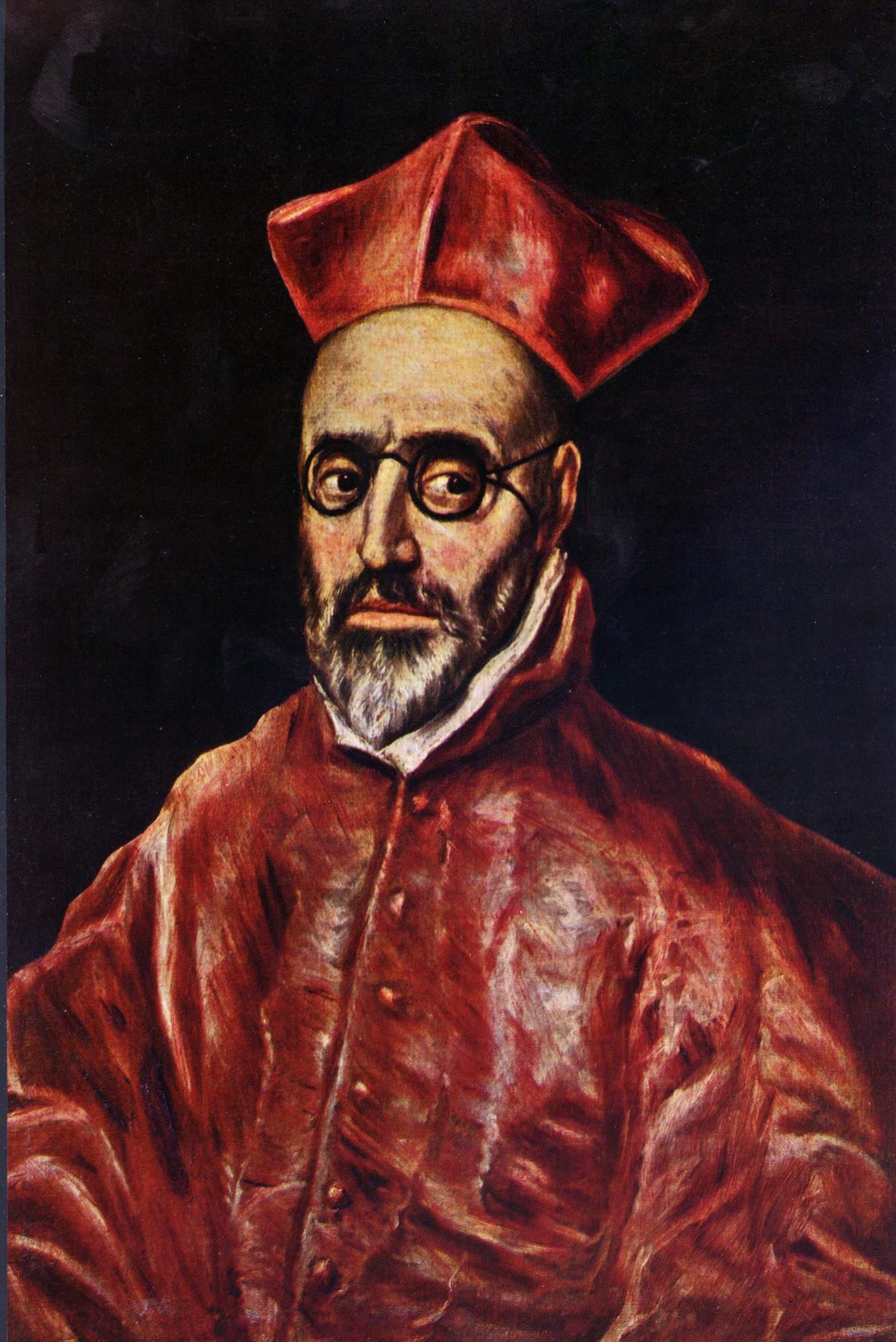 El Greco Glasses Painting