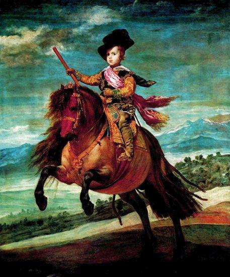 Diego Velázquez - Retrato del Príncipe Baltasar Carlos a