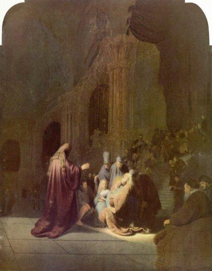 Simón en el templo