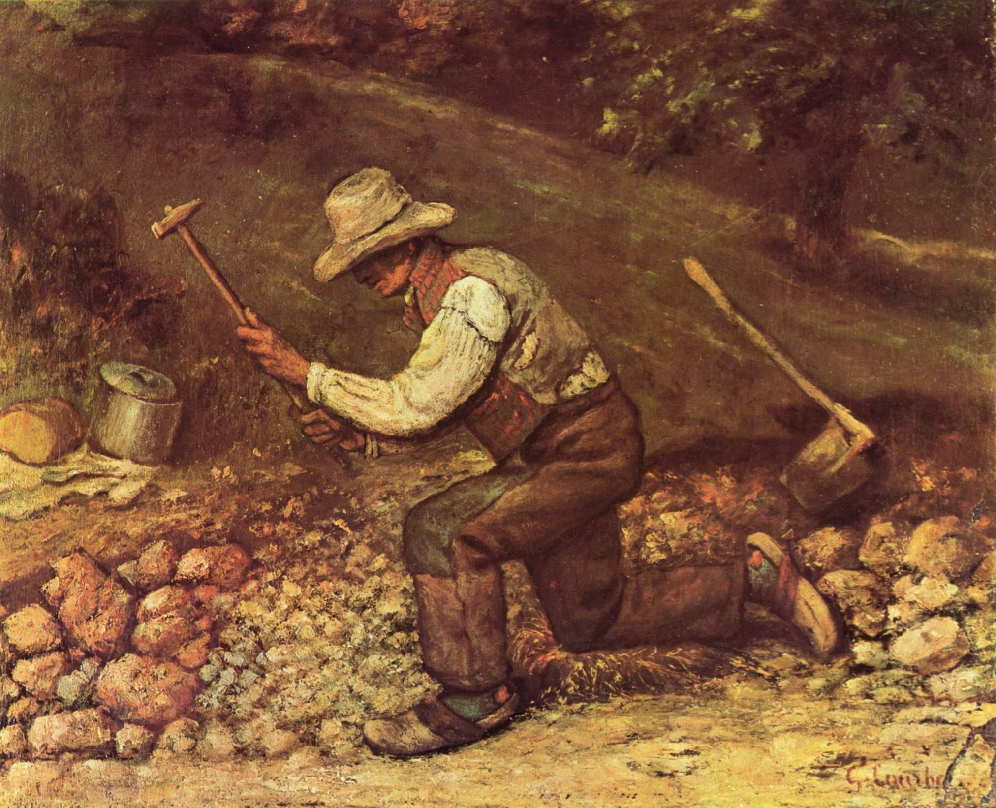 Gustave Courbet Stonebreakers