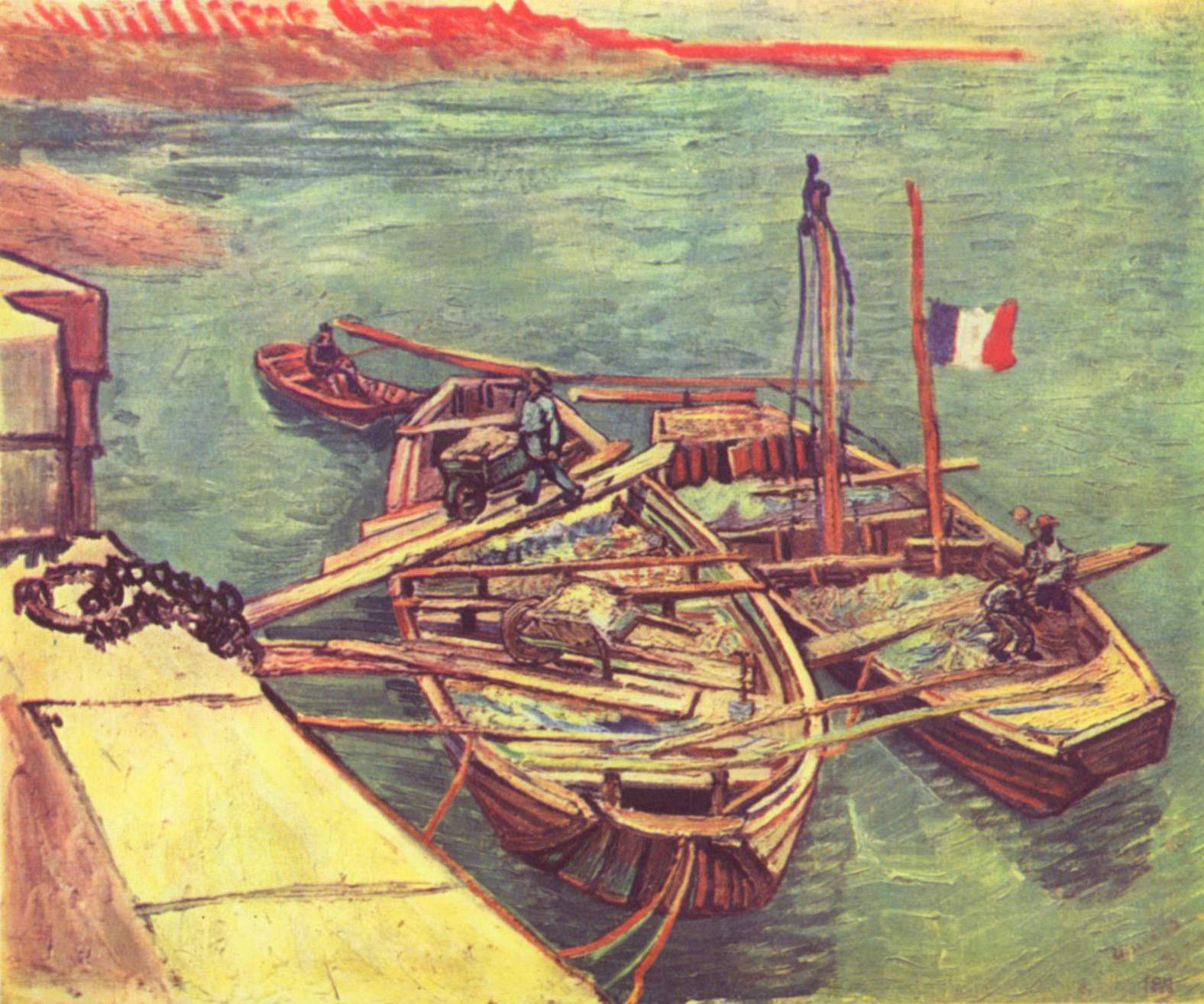 Vincent van Gogh - Vincents Schlafzimmer  Artelista.com